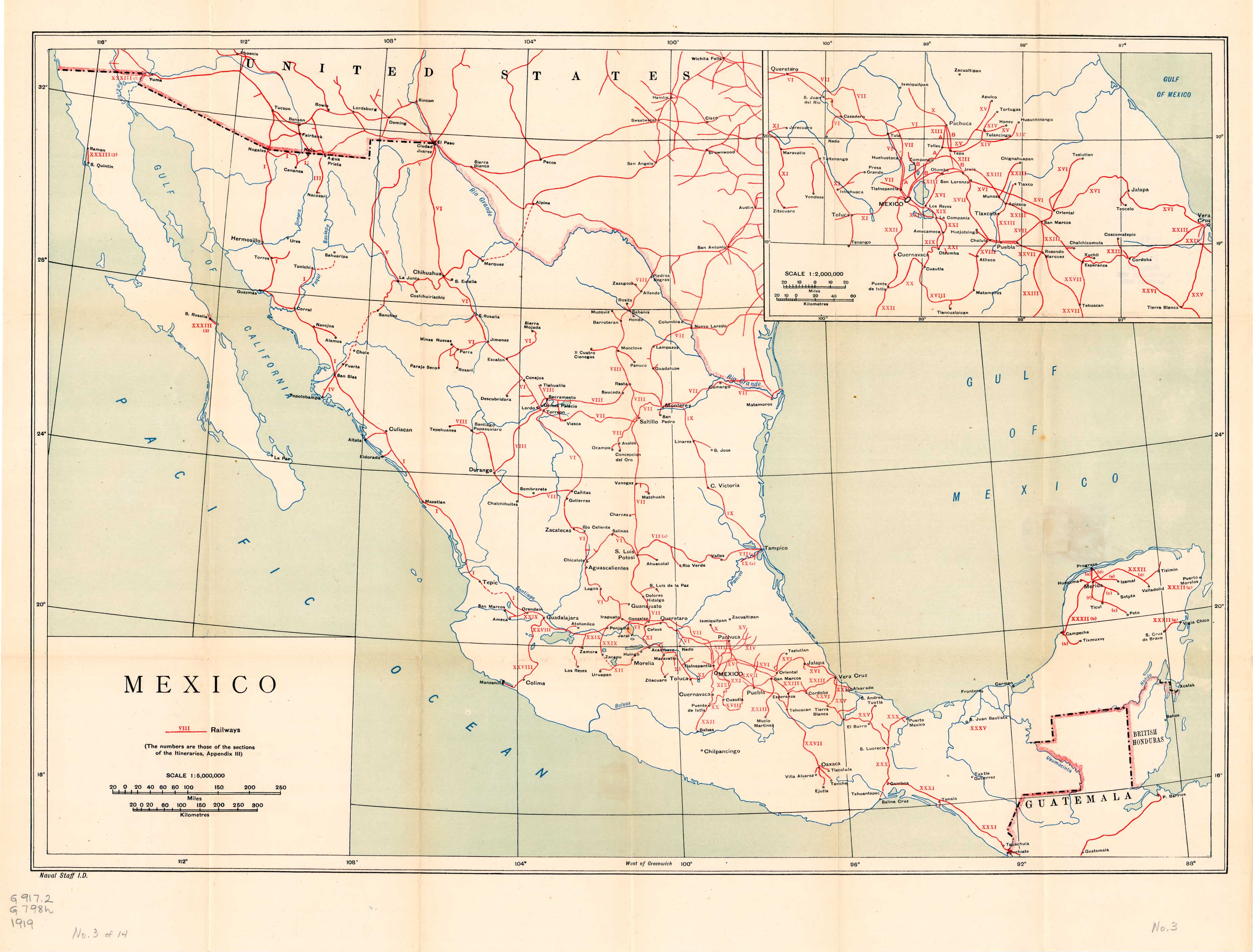 A Handbook Of Mexico Perry Castaneda Map Collection Ut Library