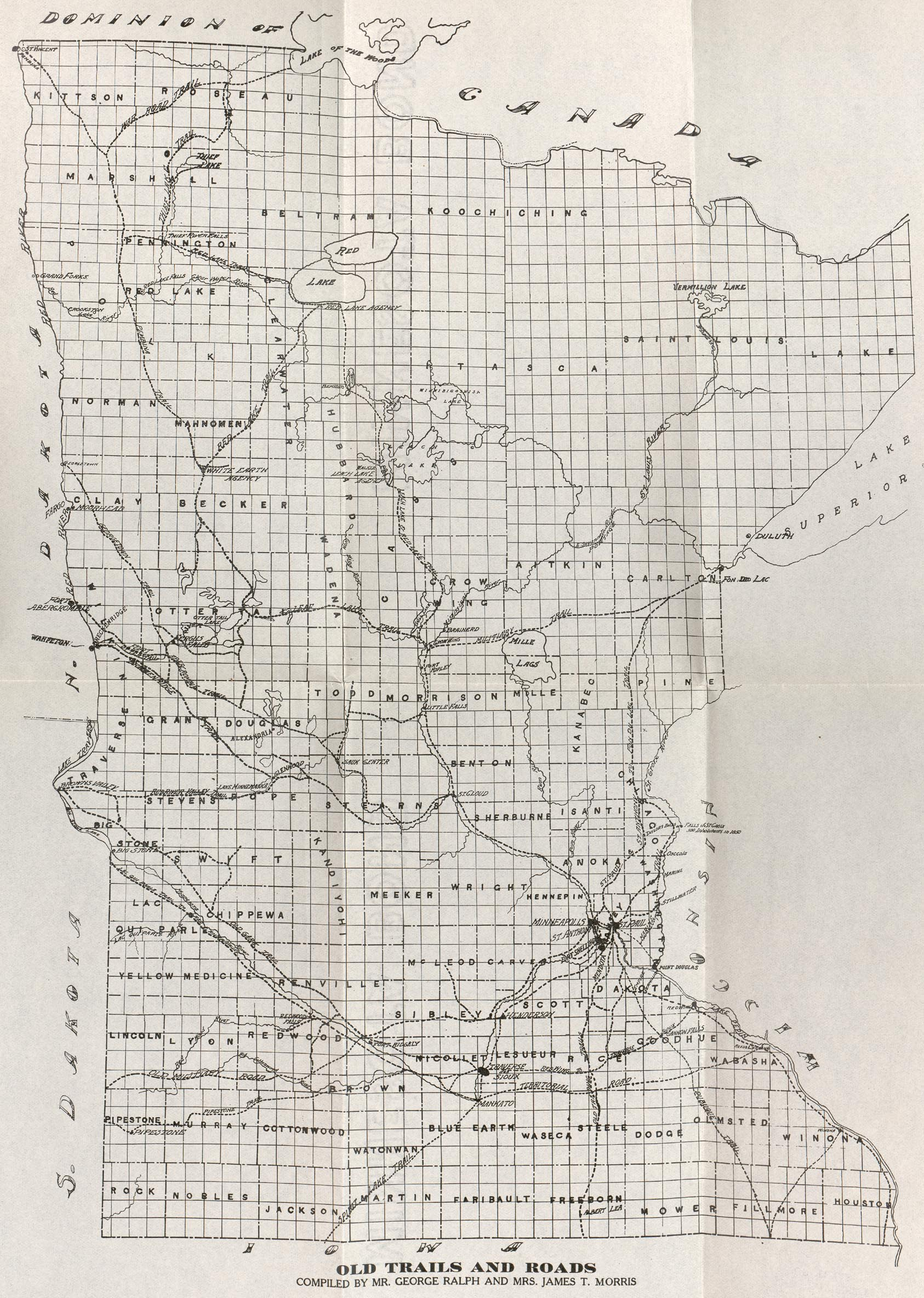 Minnesota Maps PerryCastaeda Map Collection UT Library Online