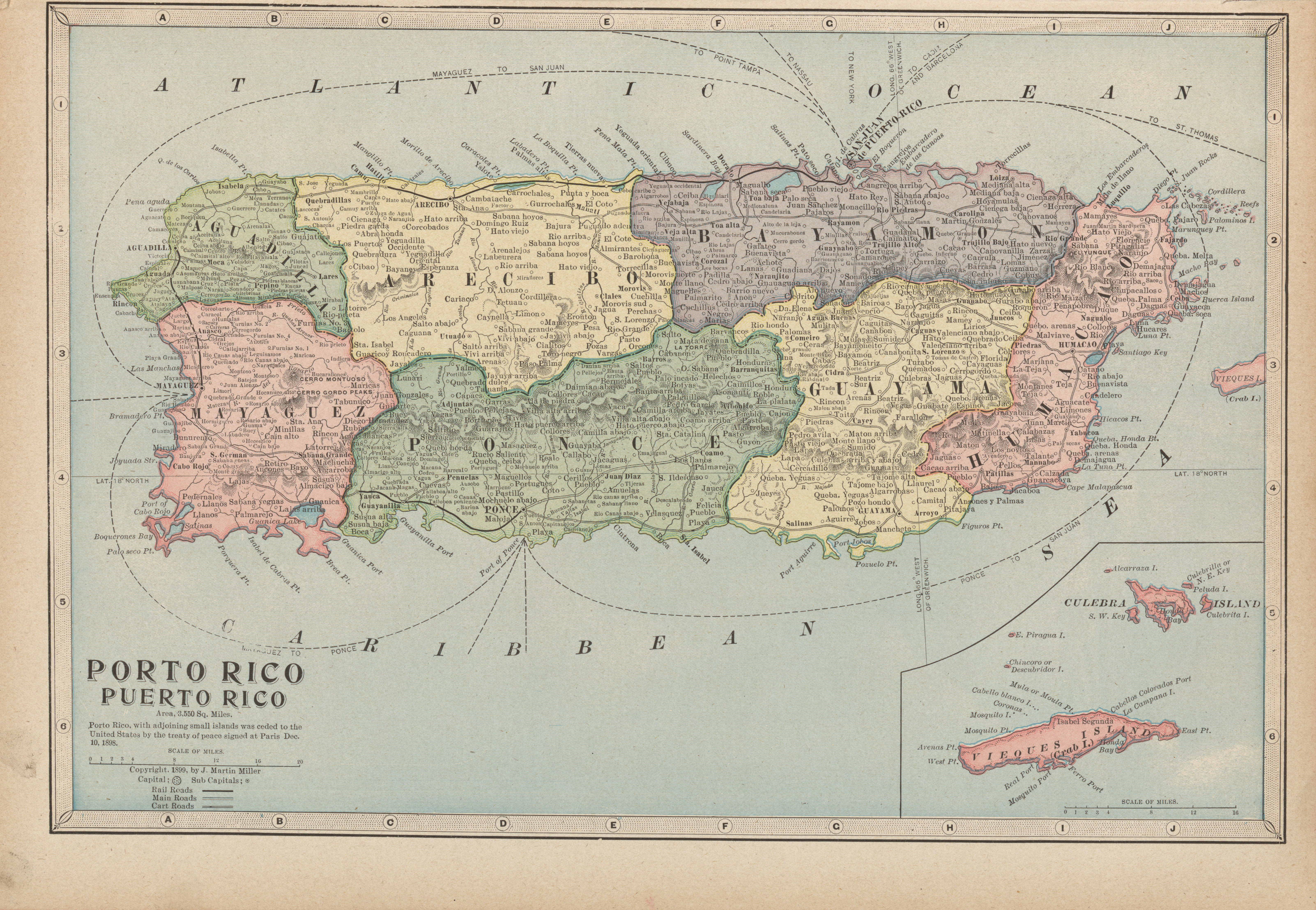 Maps from the monarch standard atlas perry castaeda map puerto rico gumiabroncs Images