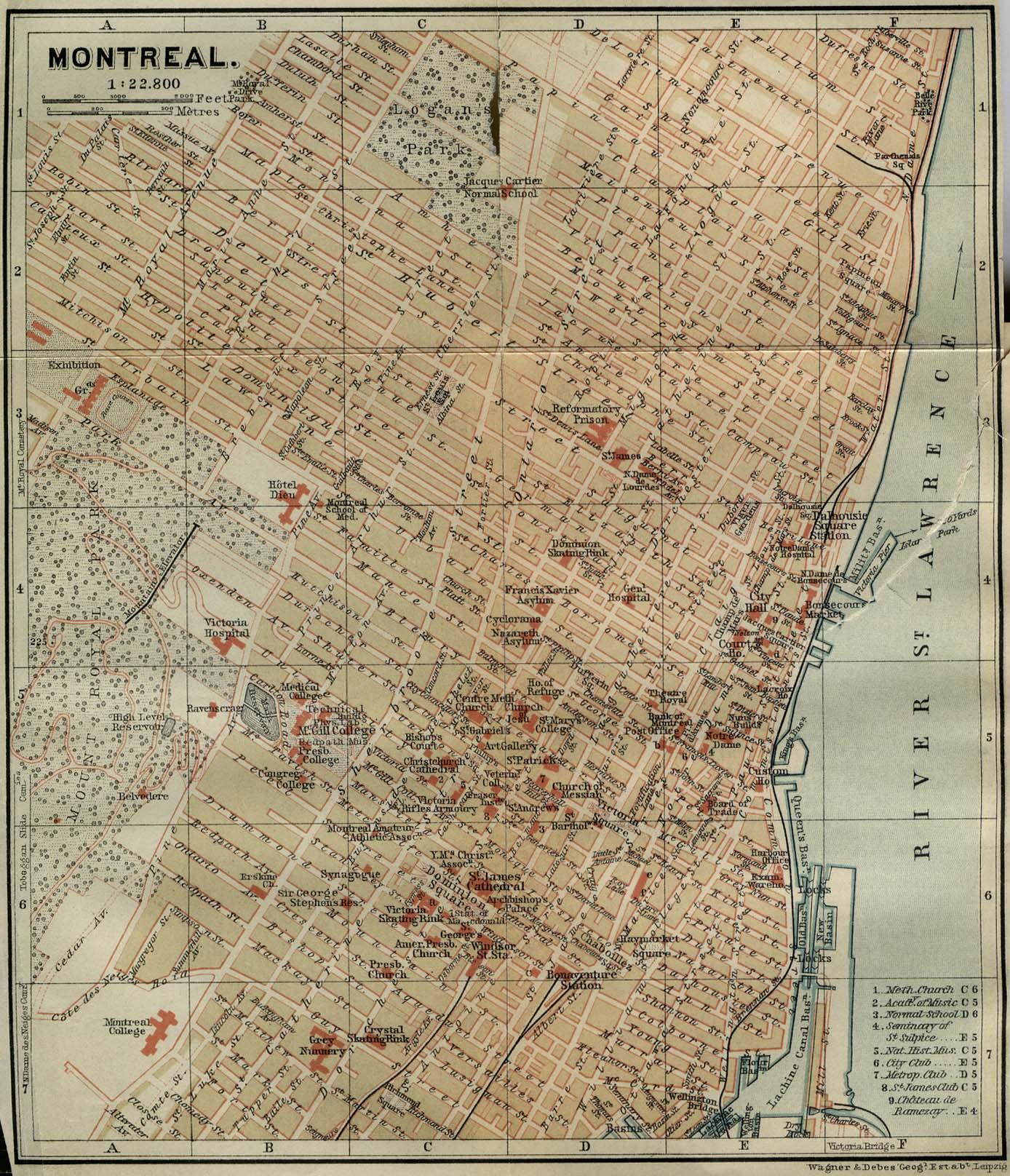 Stare geografske mape i karte - Page 2 Montreal_1894