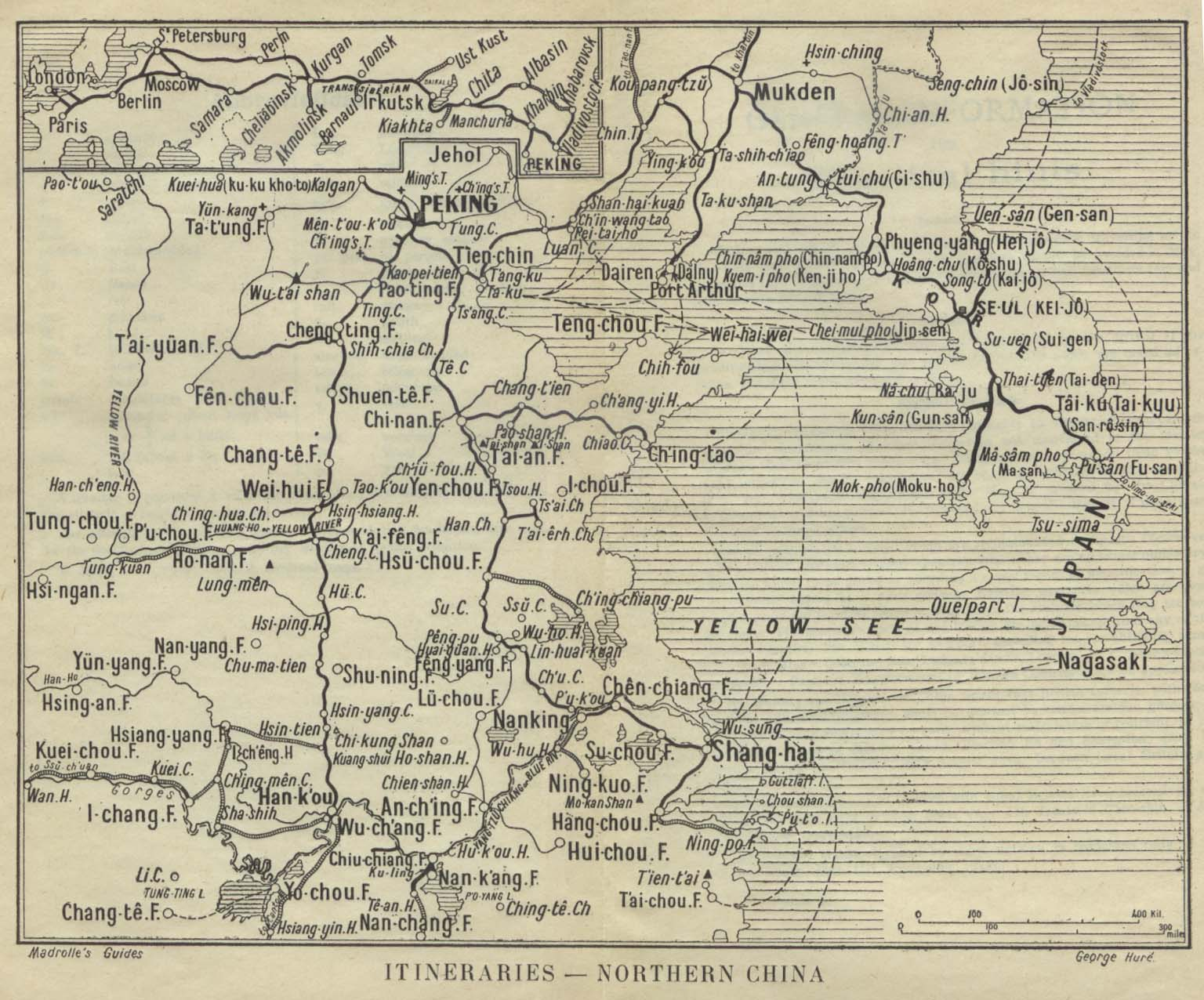 China Historical Map on