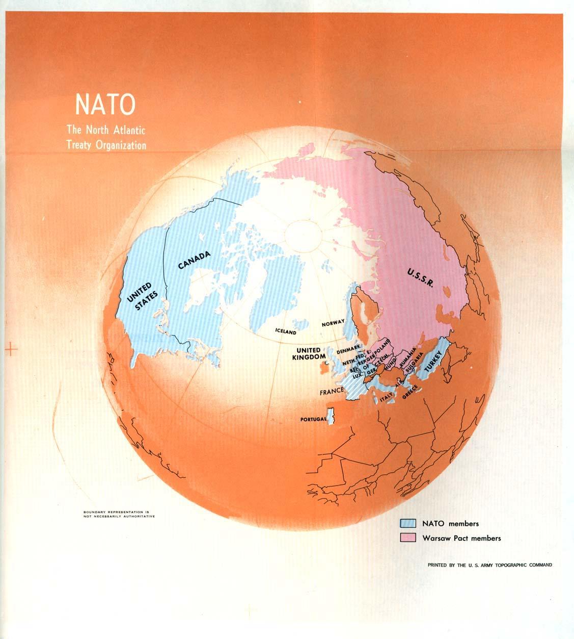 Nato The North Atlantic Treaty Organization 1970