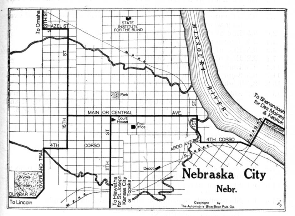 Nebraska Maps PerryCastañeda Map Collection UT Library Online - Ne map