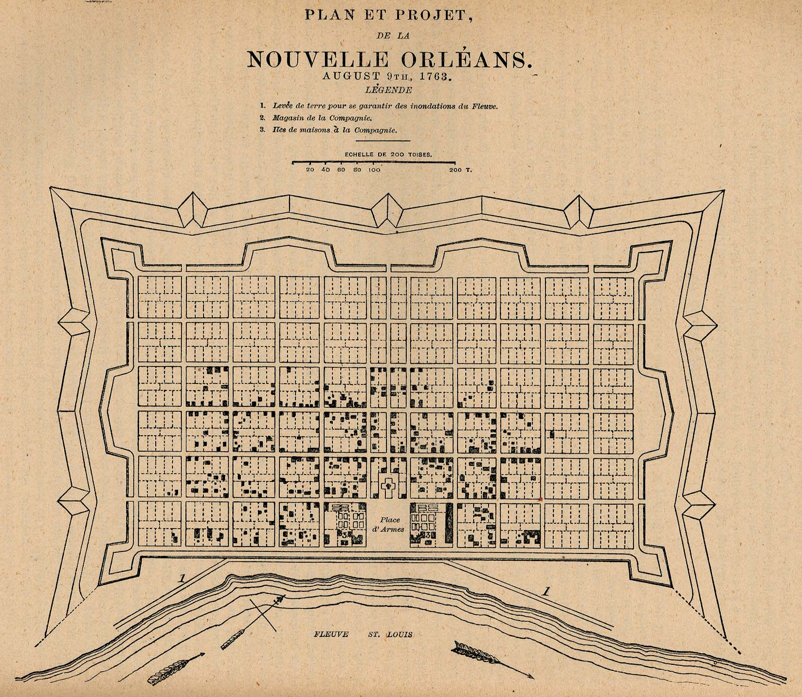 Orleans Parish Louisiana Maps And Gazetteers - New orland us map
