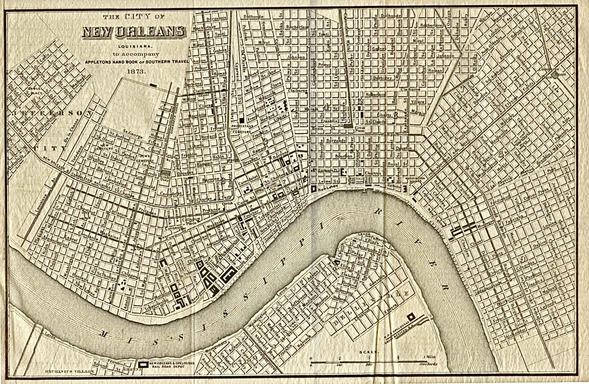 historical map of new orleans Louisiana Maps Perry Castaneda Map Collection Ut Library Online historical map of new orleans
