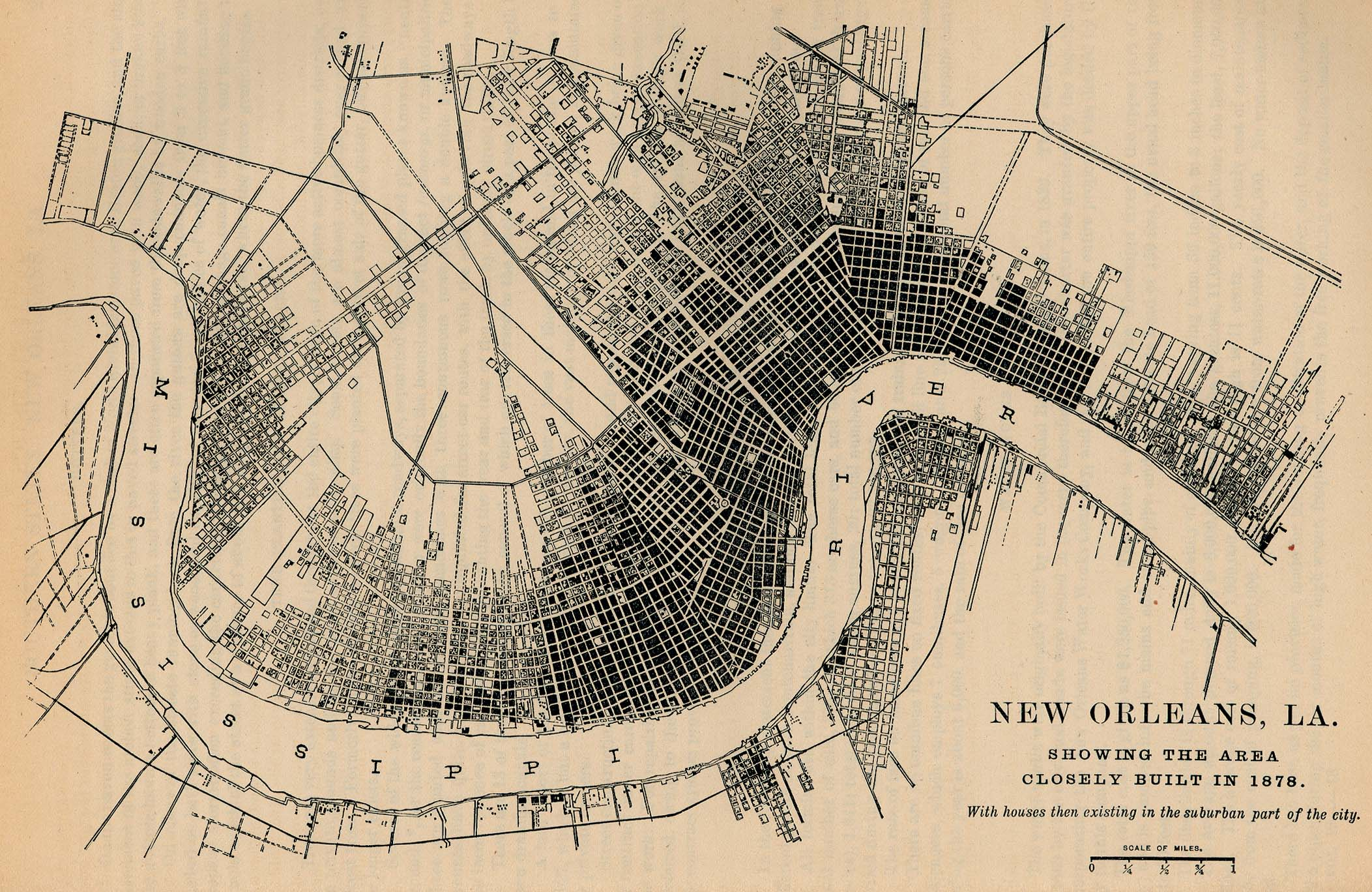 Louisiana Maps PerryCastañeda Map Collection UT Library Online - Map of new orleans area