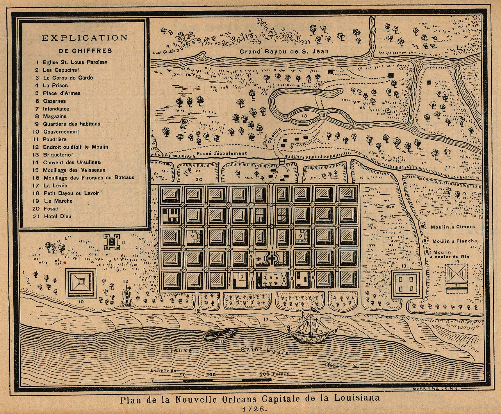 louisiana maps perry casta eda map collection ut library online. Black Bedroom Furniture Sets. Home Design Ideas