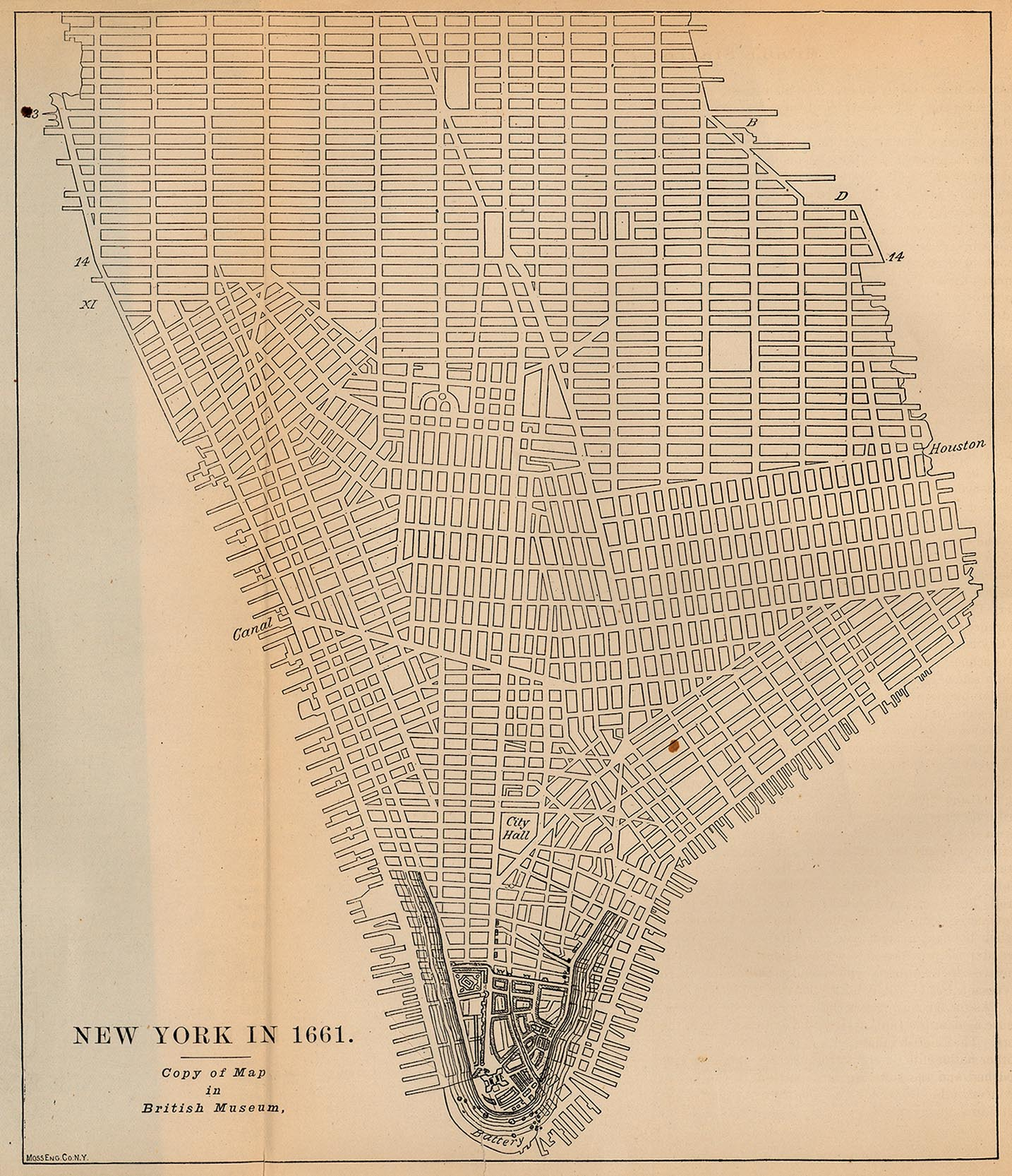New York Maps PerryCastañeda Map Collection UT Library Online - New york city map 1950