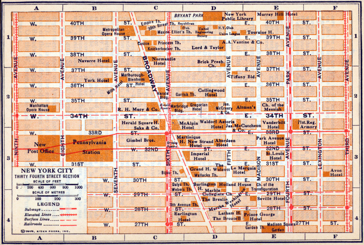 New York Maps PerryCasta eda Map Collection UT Library Online – Street Maps of New York City