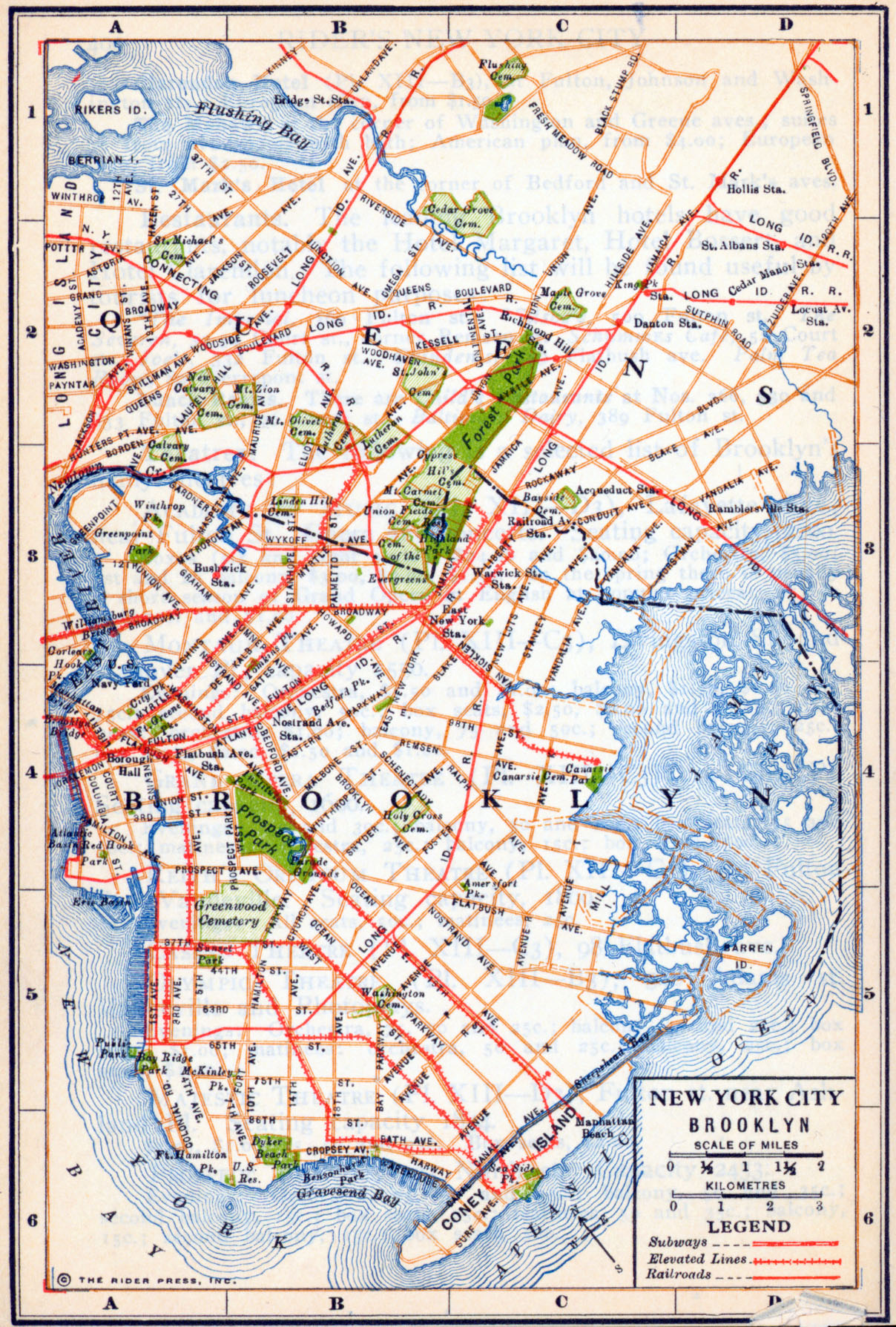 New York Maps PerryCastañeda Map Collection UT Library Online - Ny city map