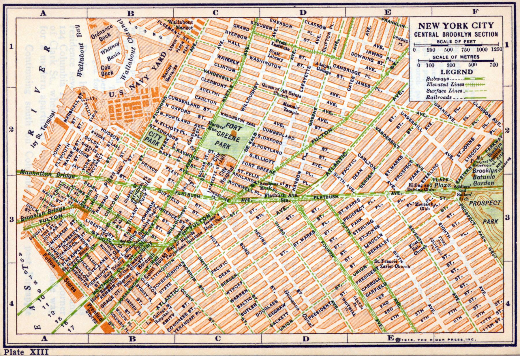 new york central brooklyn 1916