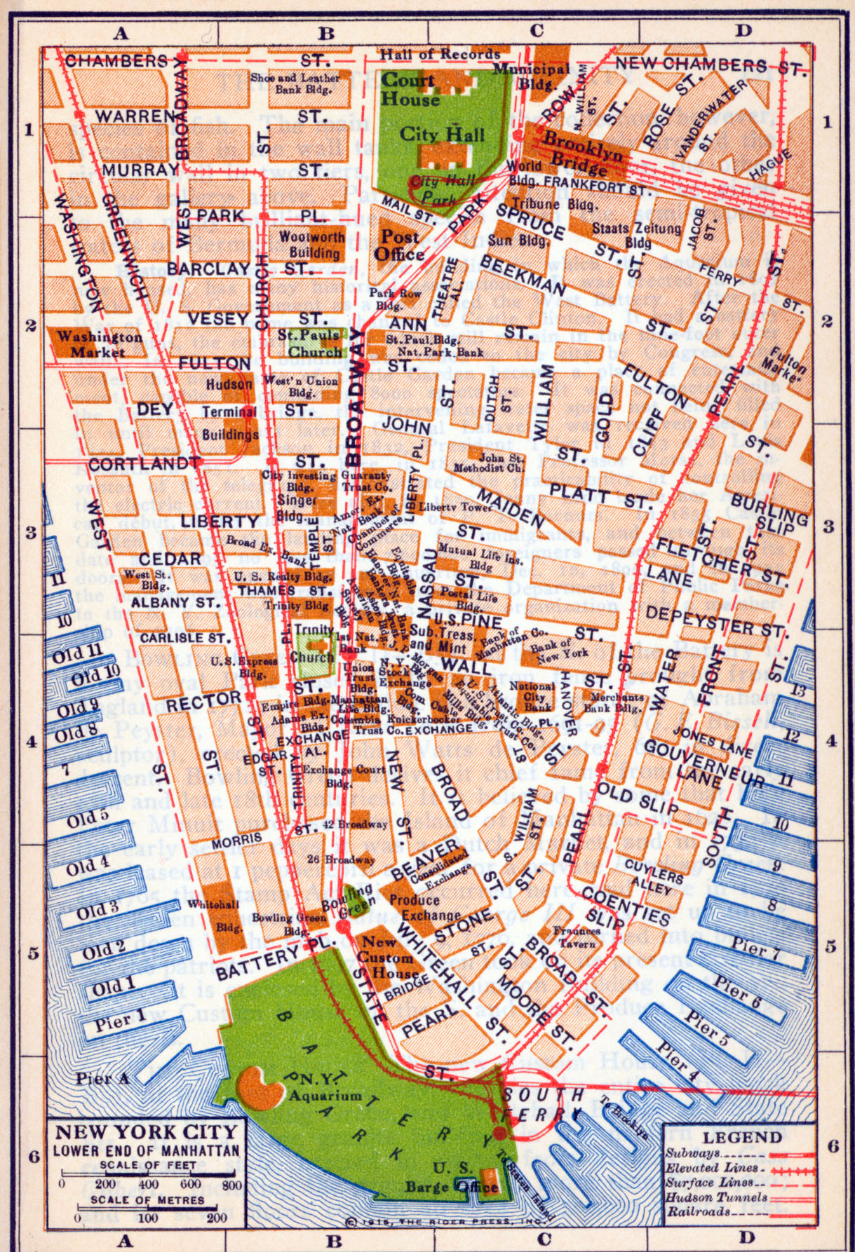 historic maps of nyc