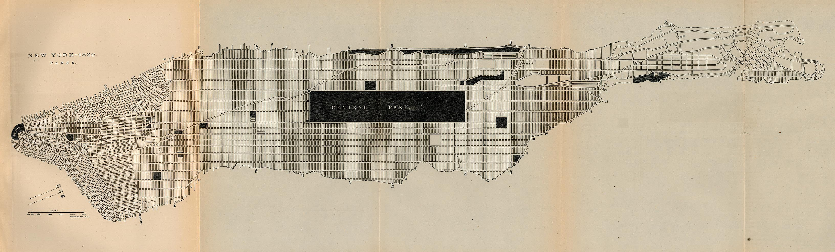 New York Maps PerryCastañeda Map Collection UT Library Online - Nyc map manhattan pdf