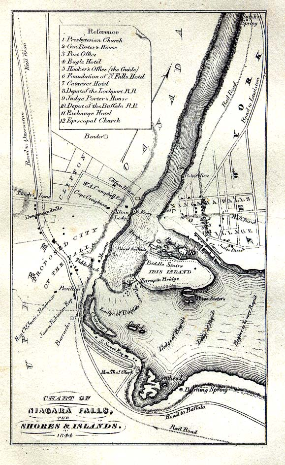 Niagara County New York Maps And Gazetteers