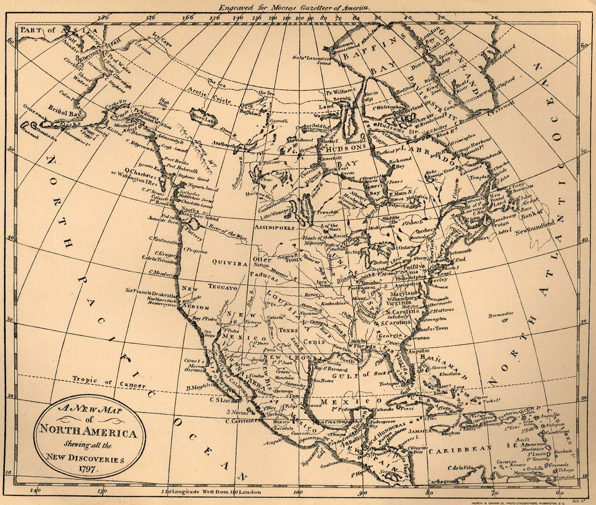 Americas Historical Maps PerryCastañeda Map Collection UT - Us map with latitude lines