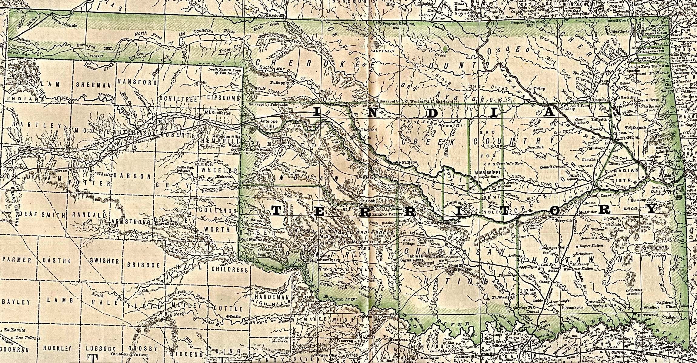 Up Travel Historical Maps Of United StatesIndian Territory - Us map of indian territories