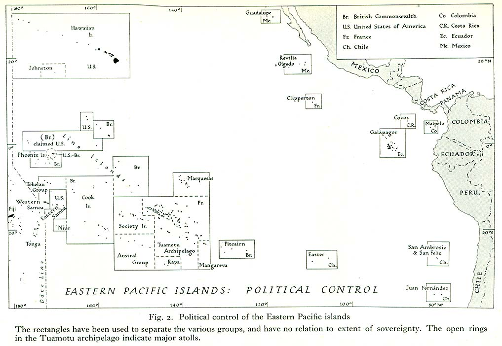 Blank Map Of Pacific Islands