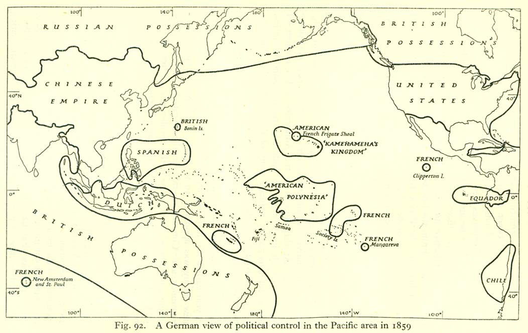 A German View Of Political Control In The Pacific Area In 1859
