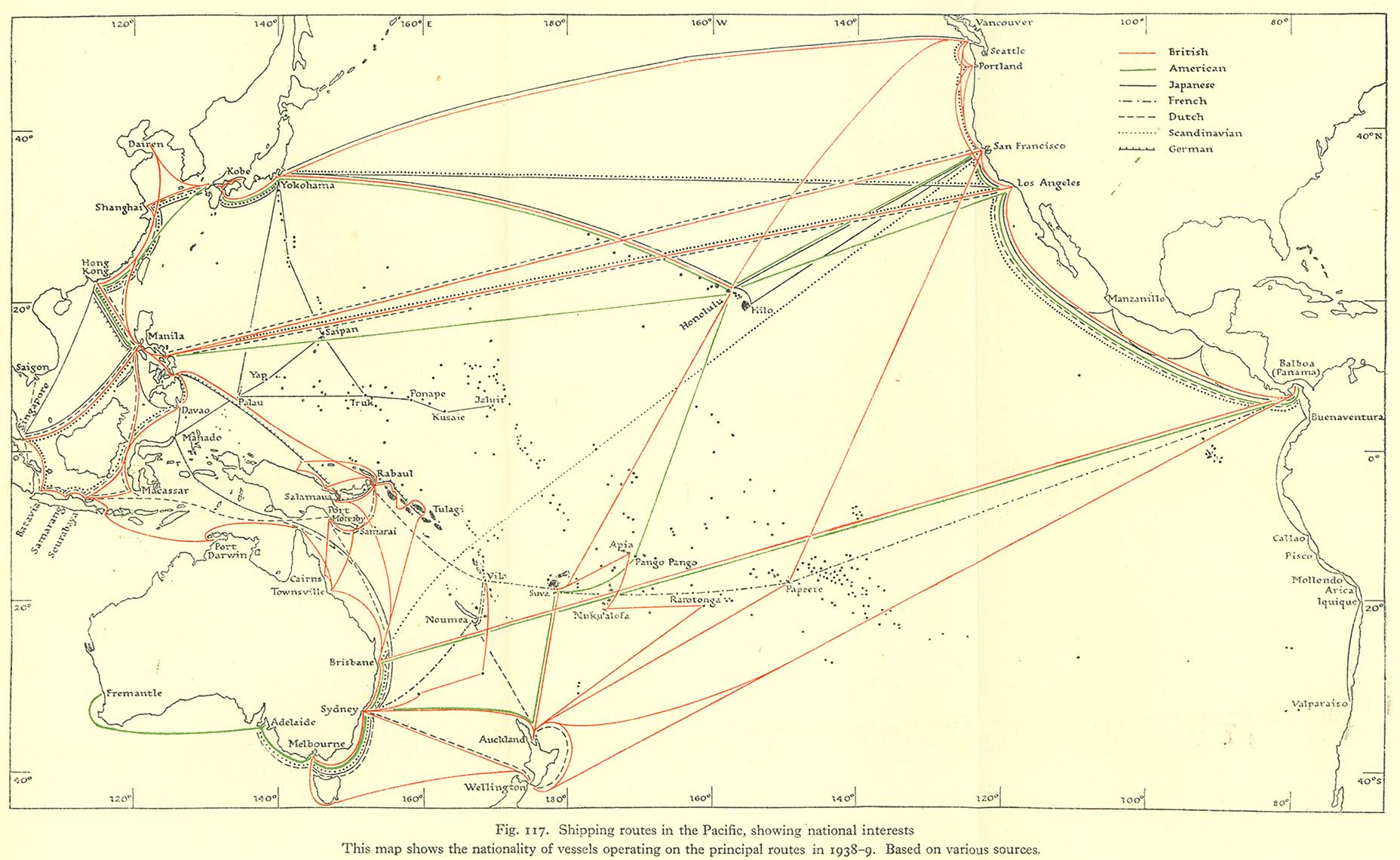 Pacific Islands 19431945 PerryCastaeda Map Collection UT