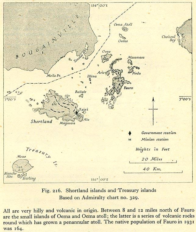 Cartes des Iles Solomon - Maps of the Solomon Islands