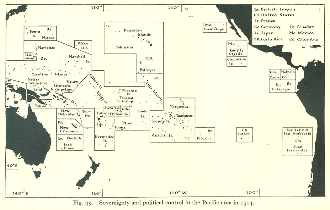 Pacific Islands PerryCastañeda Map Collection UT - Us empire map pacific
