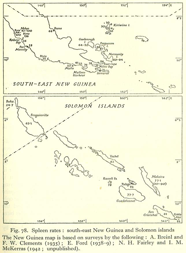 Pacific Islands 1943-1945 - Perry-Castañeda Map Collection