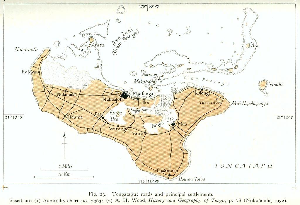TONGA ISLANDS /ÎLES TONGA