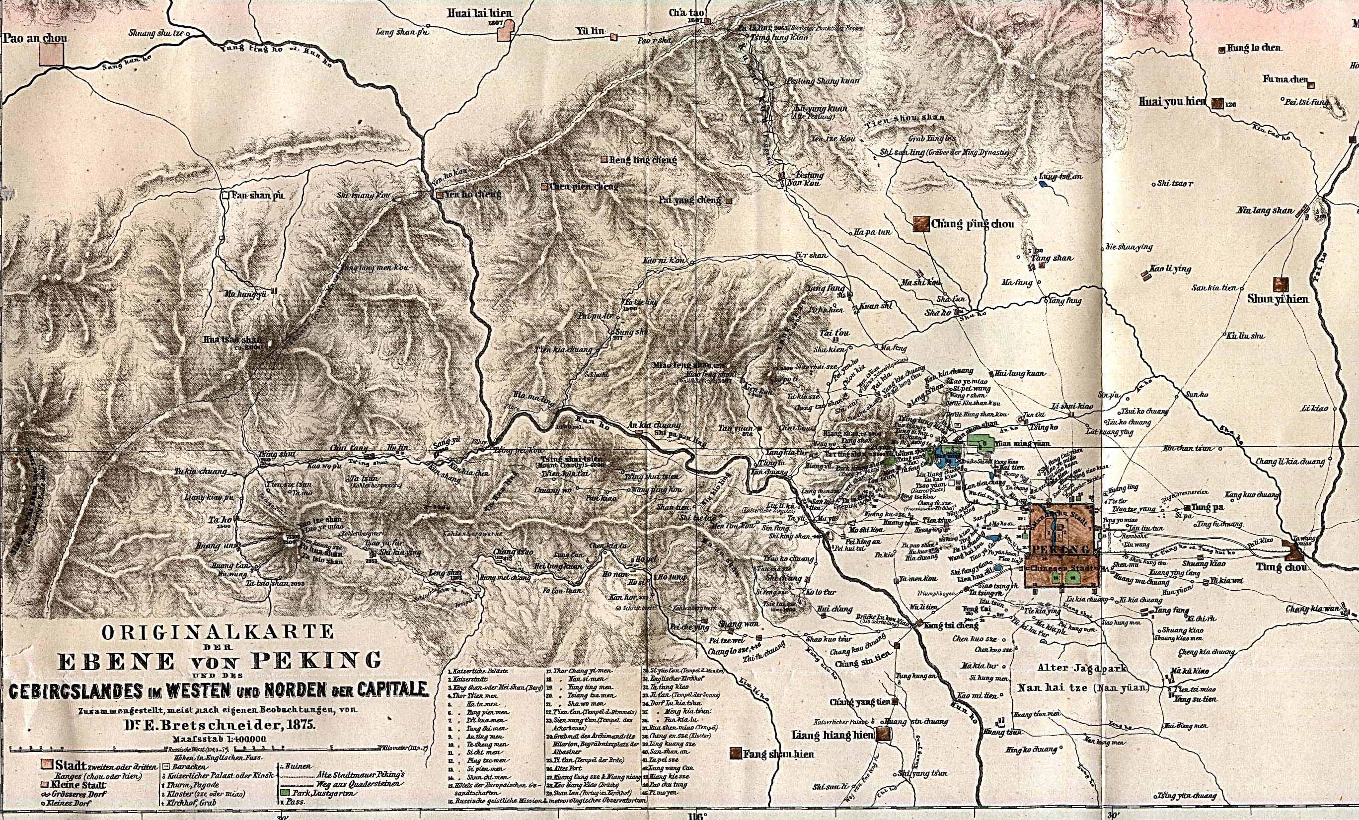 China historical maps perry castaeda map collection ut library beijing peking region 1875 gumiabroncs Image collections