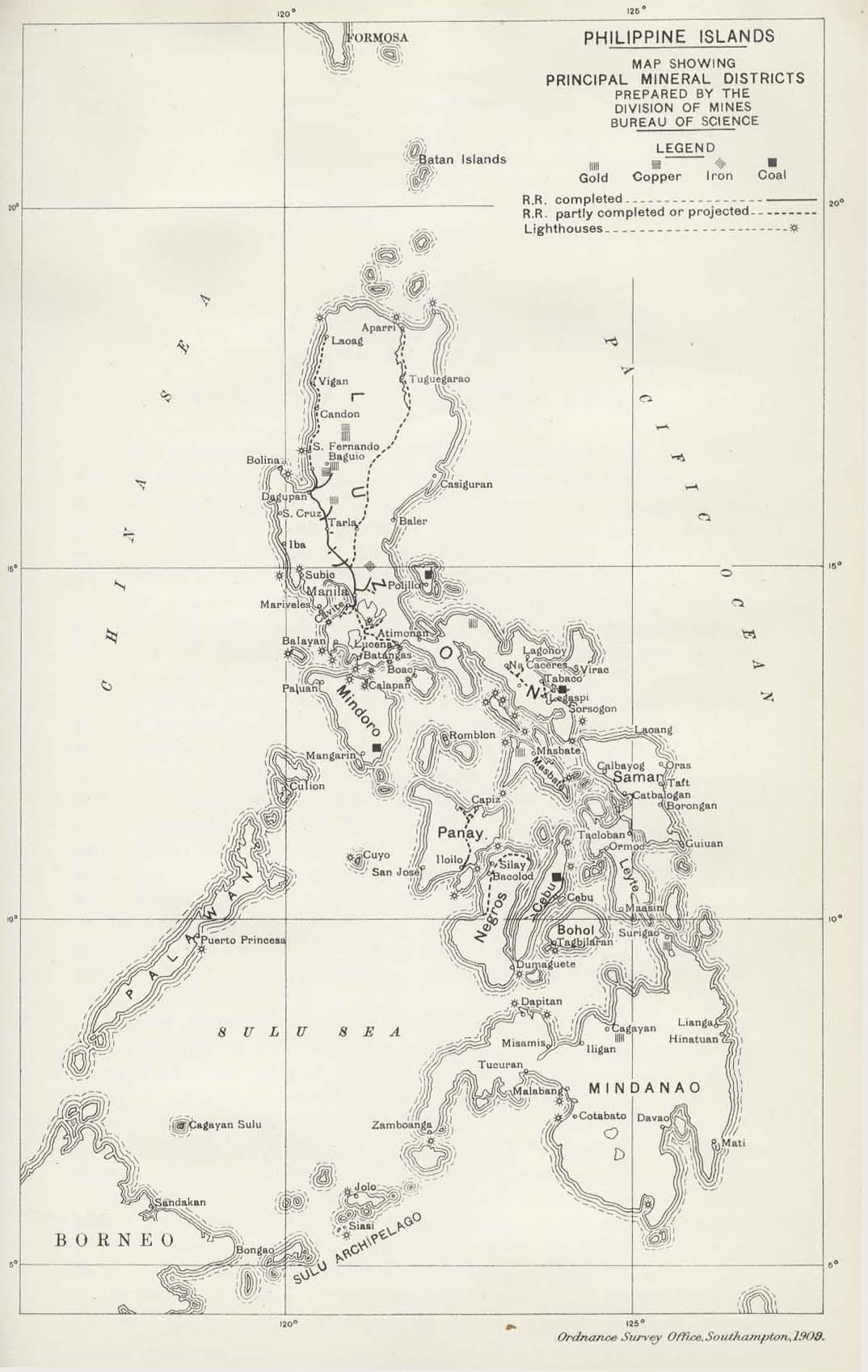 Philippines Maps PerryCastañeda Map Collection UT Library Online - Map of philippines