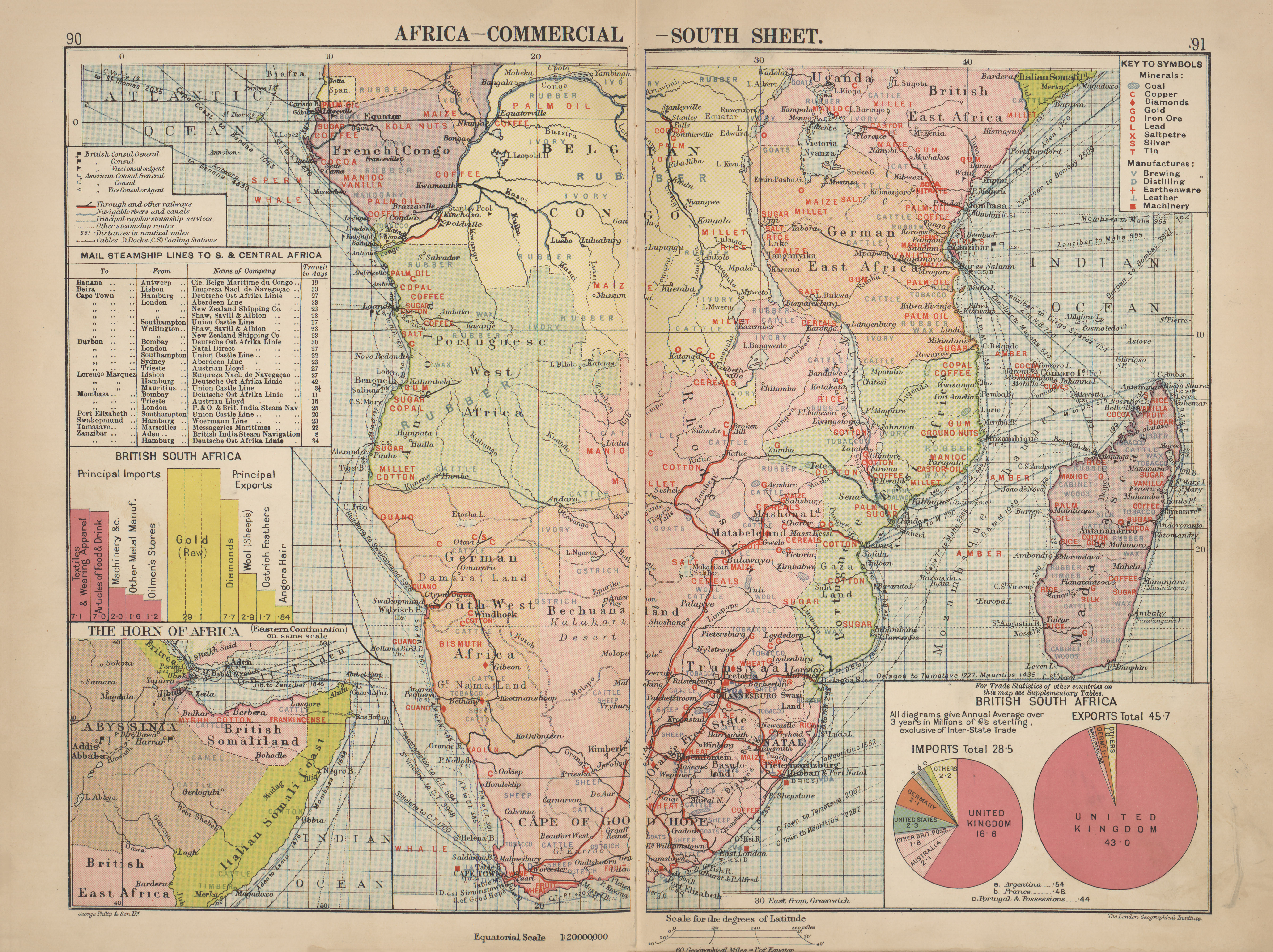 Maps from philips chamber of commerce atlas perry castaeda map maps from philips chamber of commerce atlas a graphic survey of the worlds trade with a commercial compendium and gazetteer index by george philip son gumiabroncs Image collections
