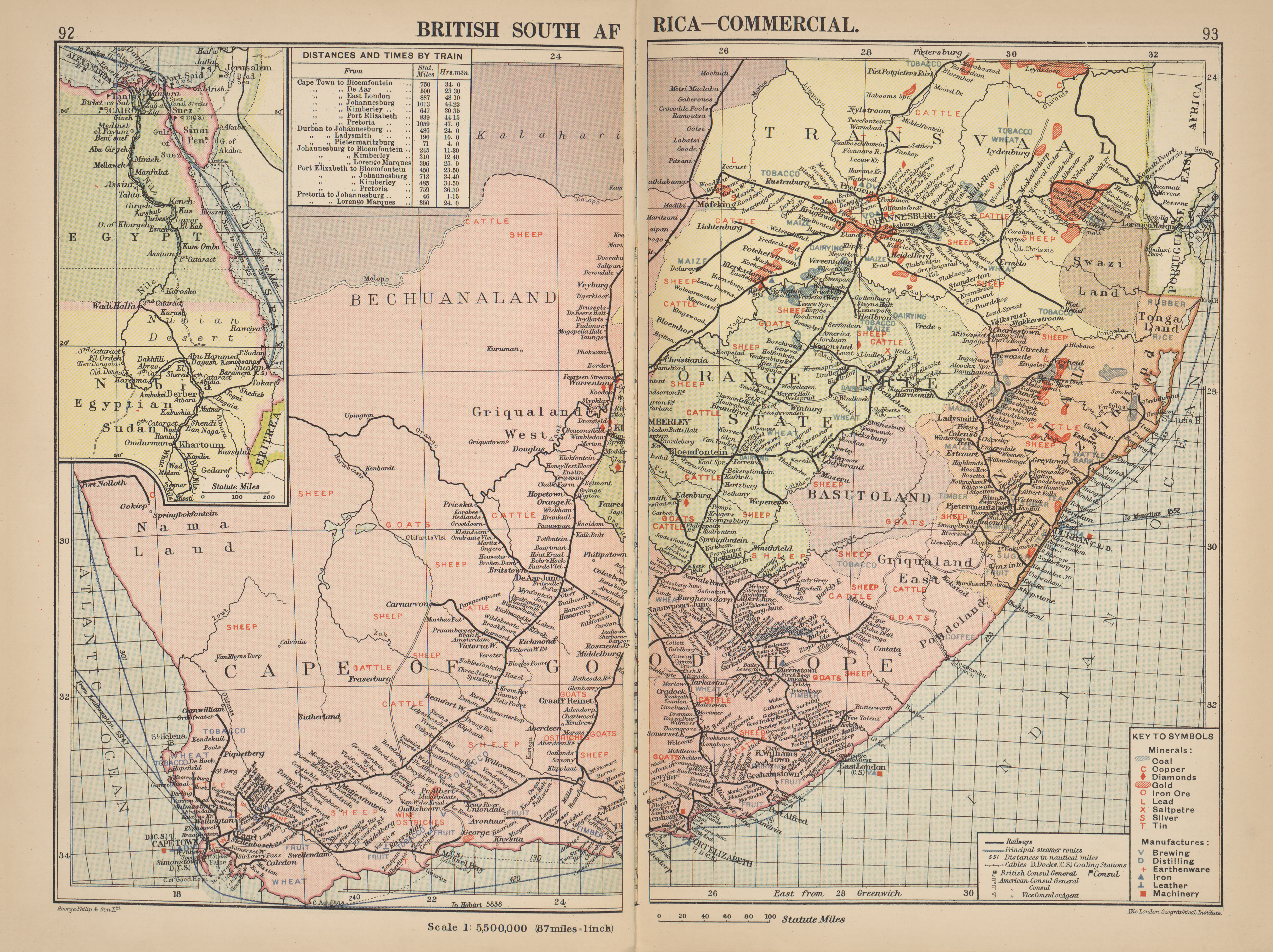 Maps from philips chamber of commerce atlas perry castaeda map british south africa commercial gumiabroncs Images