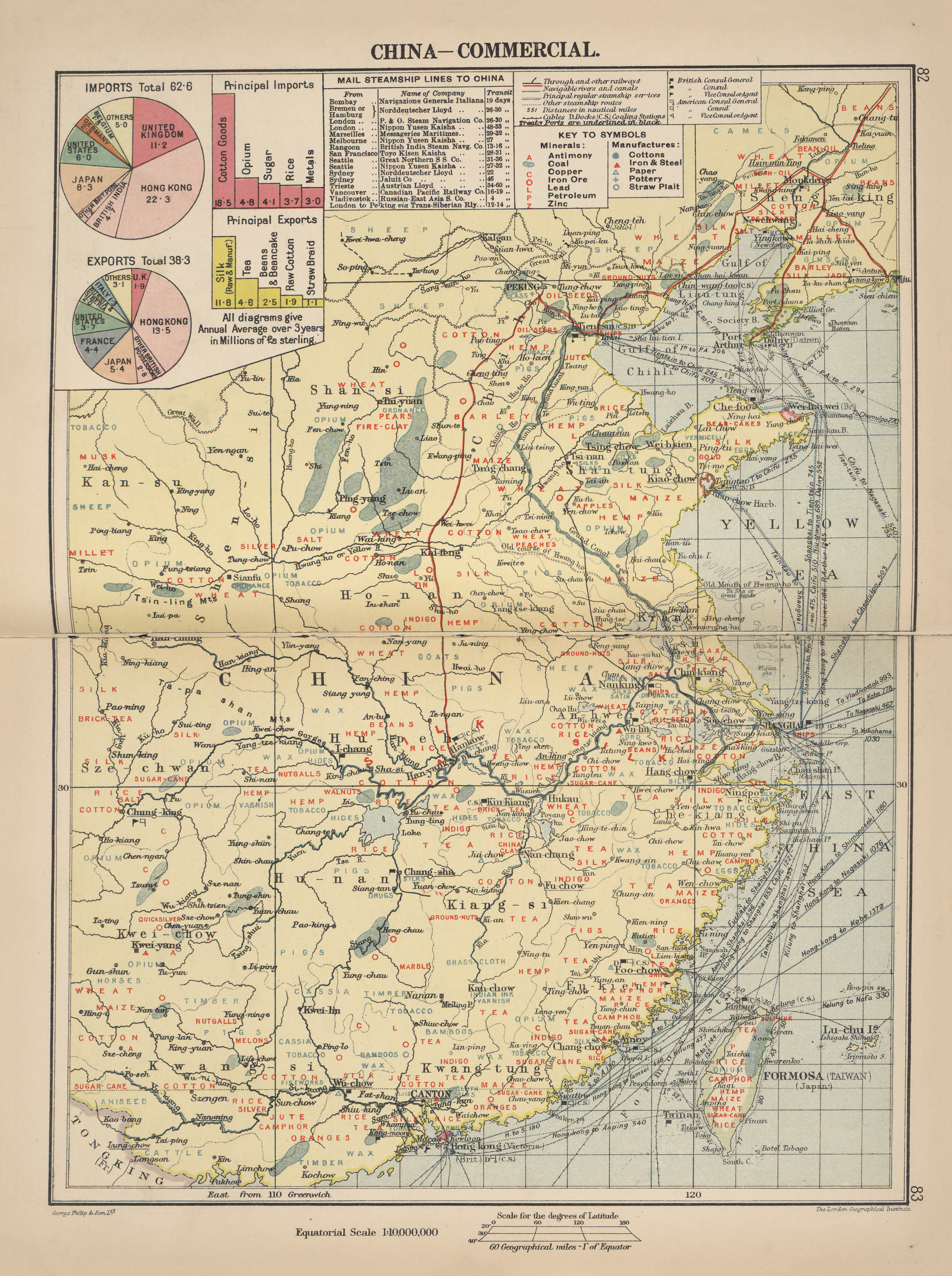 Maps from philips chamber of commerce atlas perry castaeda map maps from philips chamber of commerce atlas a graphic survey of the worlds trade with a commercial compendium and gazetteer index by george philip son gumiabroncs Choice Image