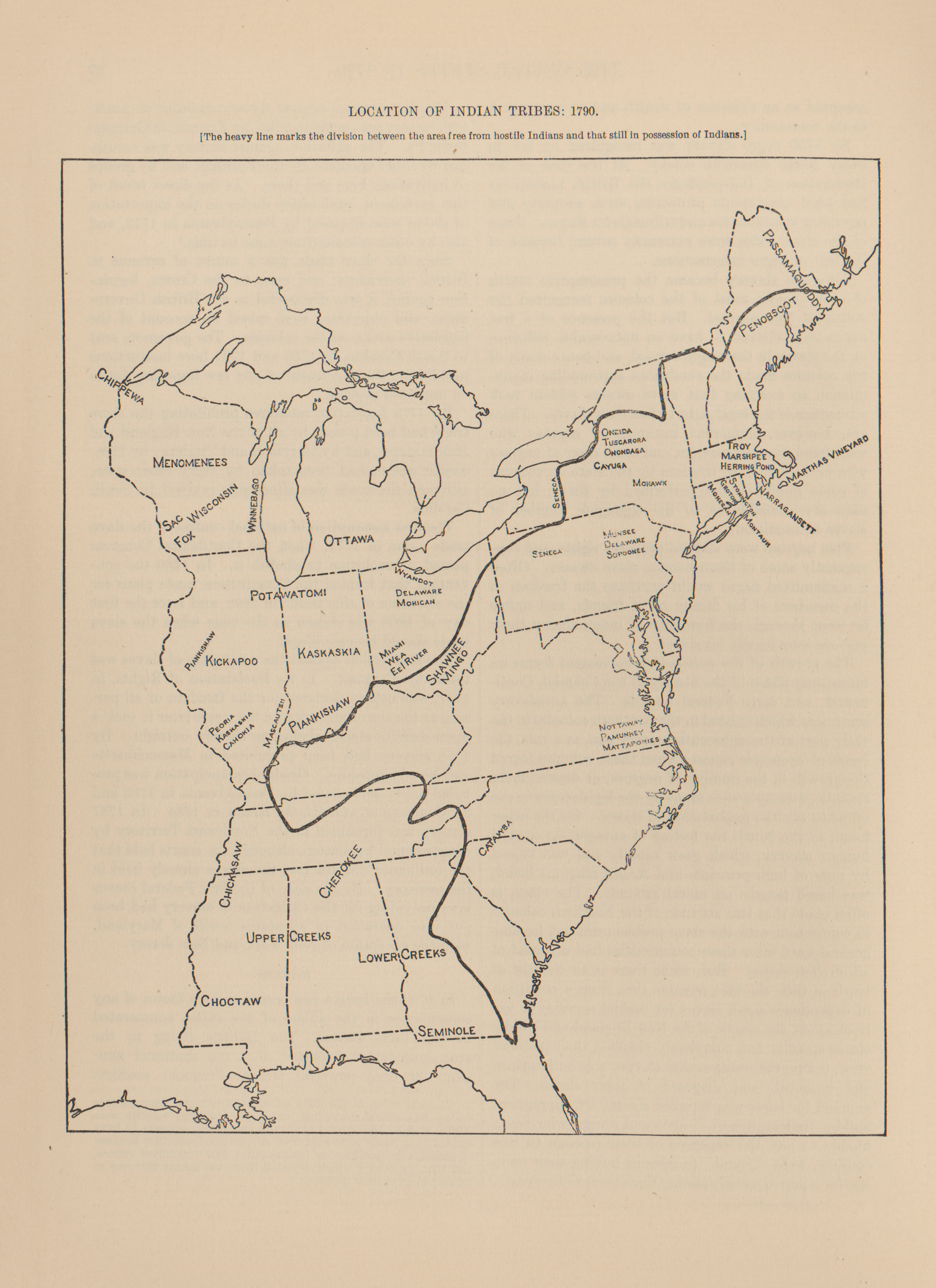 Selected Maps From A Century Of Population Growth In The United - Map of us 1790