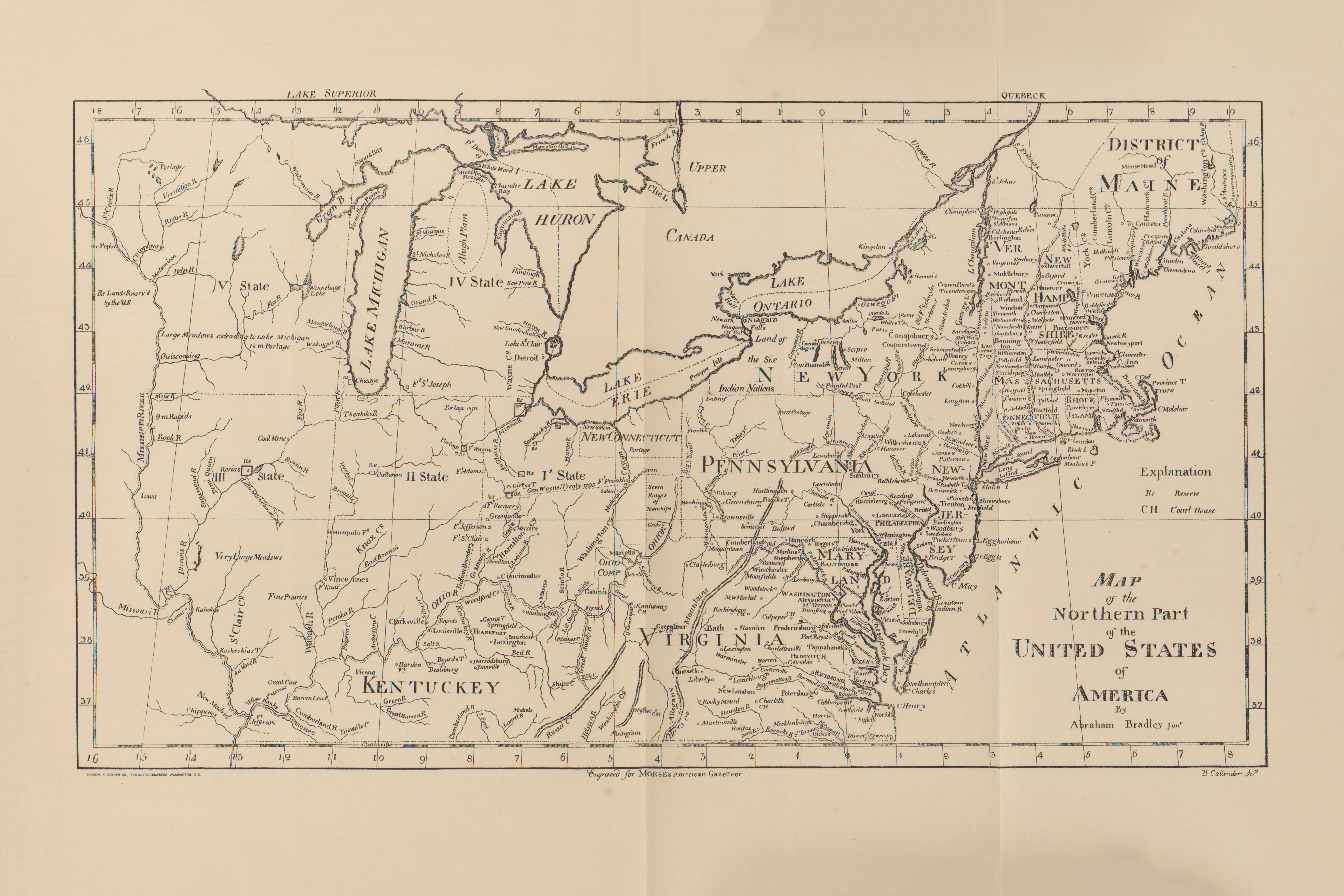 Selected Maps From A Century Of Population Growth In The United - Census us 1910 map
