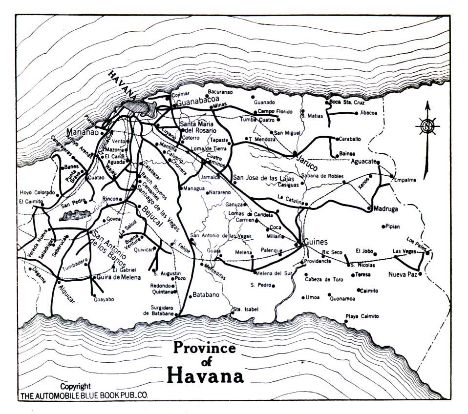 Cuba Maps PerryCastañeda Map Collection UT Library Online - Cuba provinces map