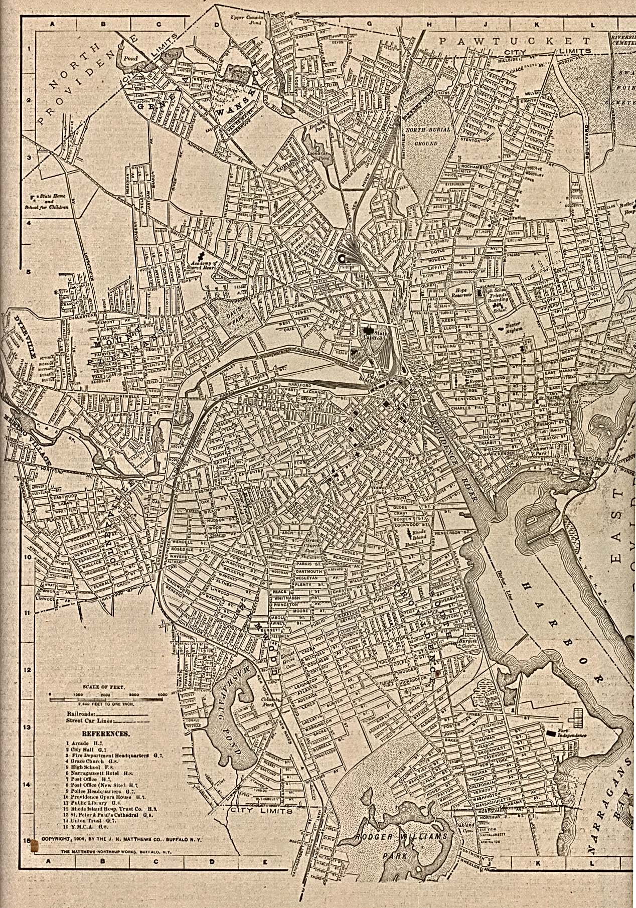 Rhode Island Maps PerryCastañeda Map Collection UT Library Online - Map of ri
