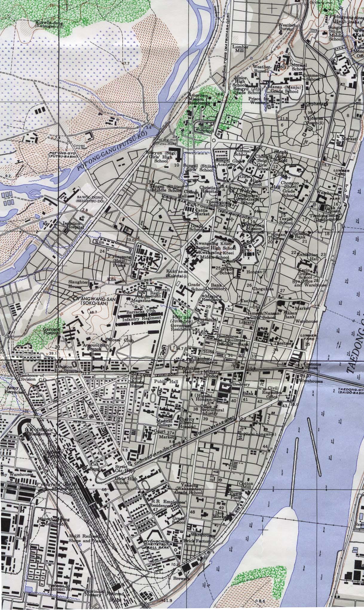 92k Pyongyang 1946 549k Map