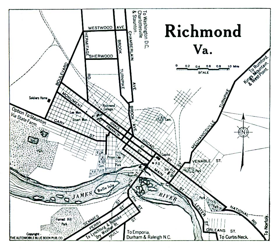 Map Of Richmond Va Virginia Maps   Perry Castañeda Map Collection   UT Library Online Map Of Richmond Va
