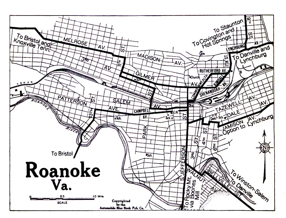 Roanoke, Virginia on street map franklin county, street map united states, city map gander way roanoke, street map garden city, street map virginia, street map of salem va,