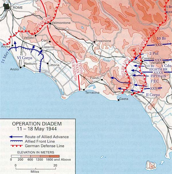 Up Travel Historical Maps Of World War II RomeArno - Rome map world