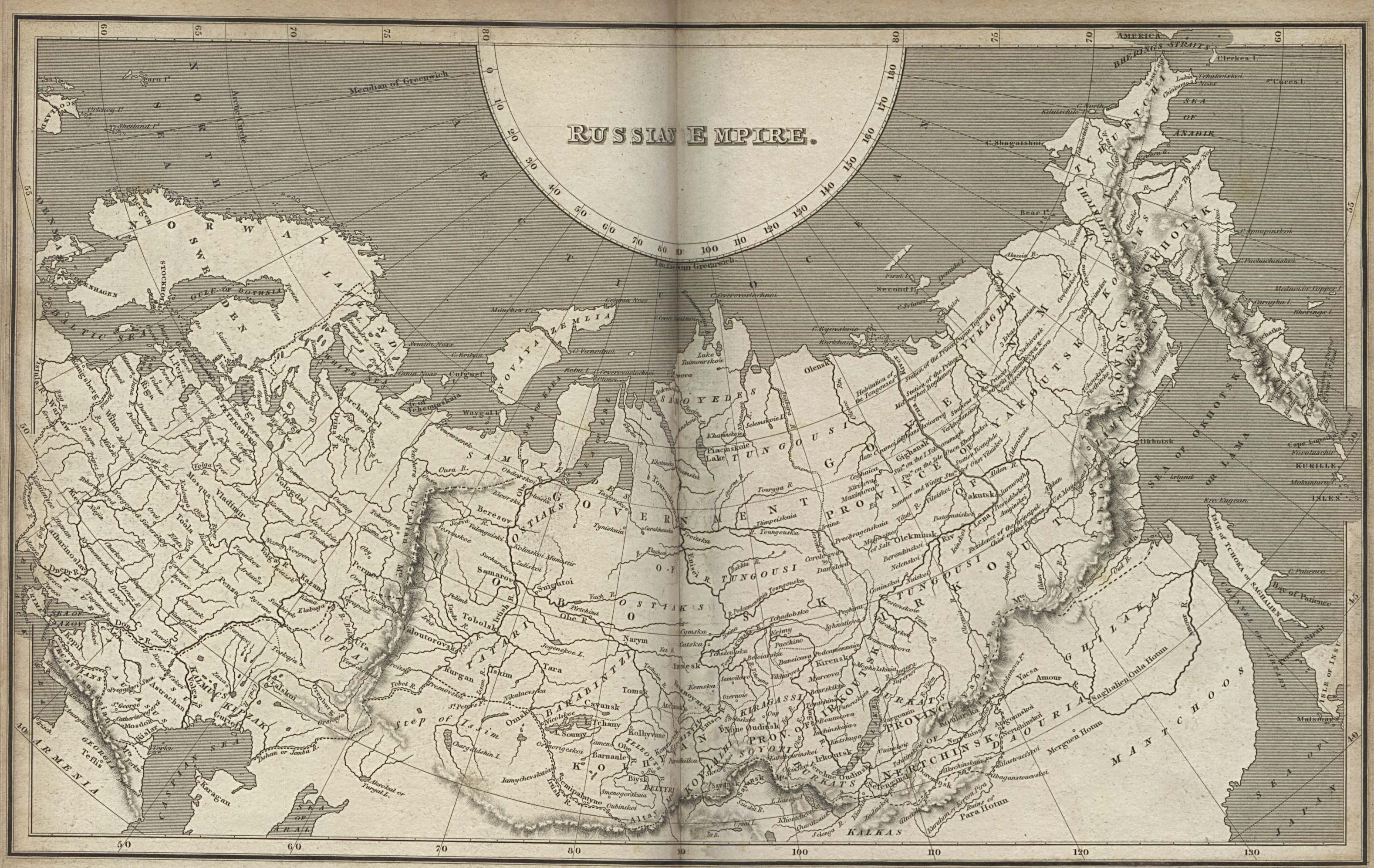 Russia And The Former Soviet Republics Historical Maps Perry - Map of russia