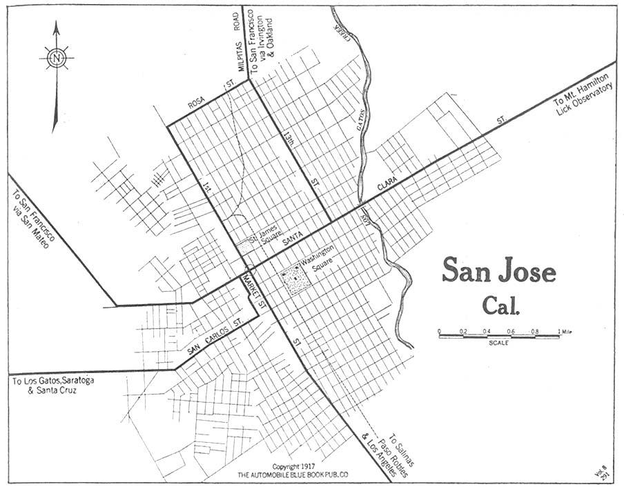 Santa Clara County Genealogy Maps