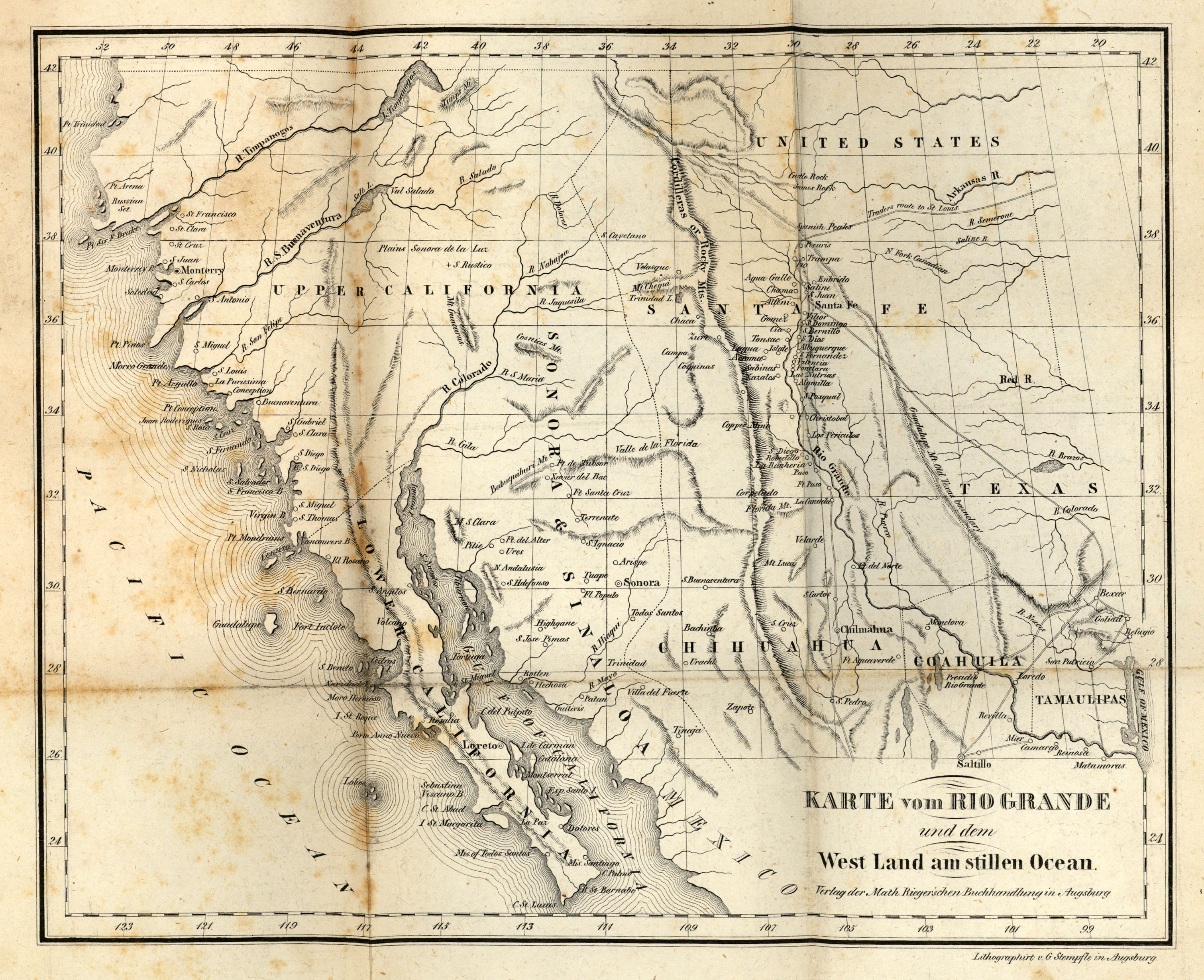 Americas Historical Maps PerryCastañeda Map Collection UT - Southwestern usa map