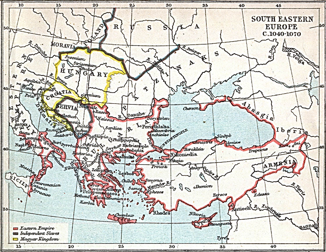 Maps of South East Europe PerryCasta eda Map Collection UT – South of Europe Map
