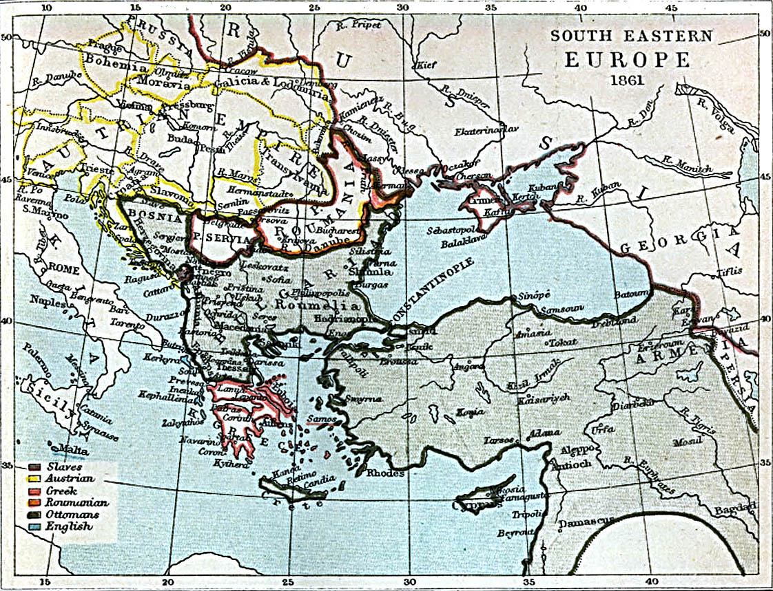 Maps of South East Europe  PerryCastaeda Map Collection  UT