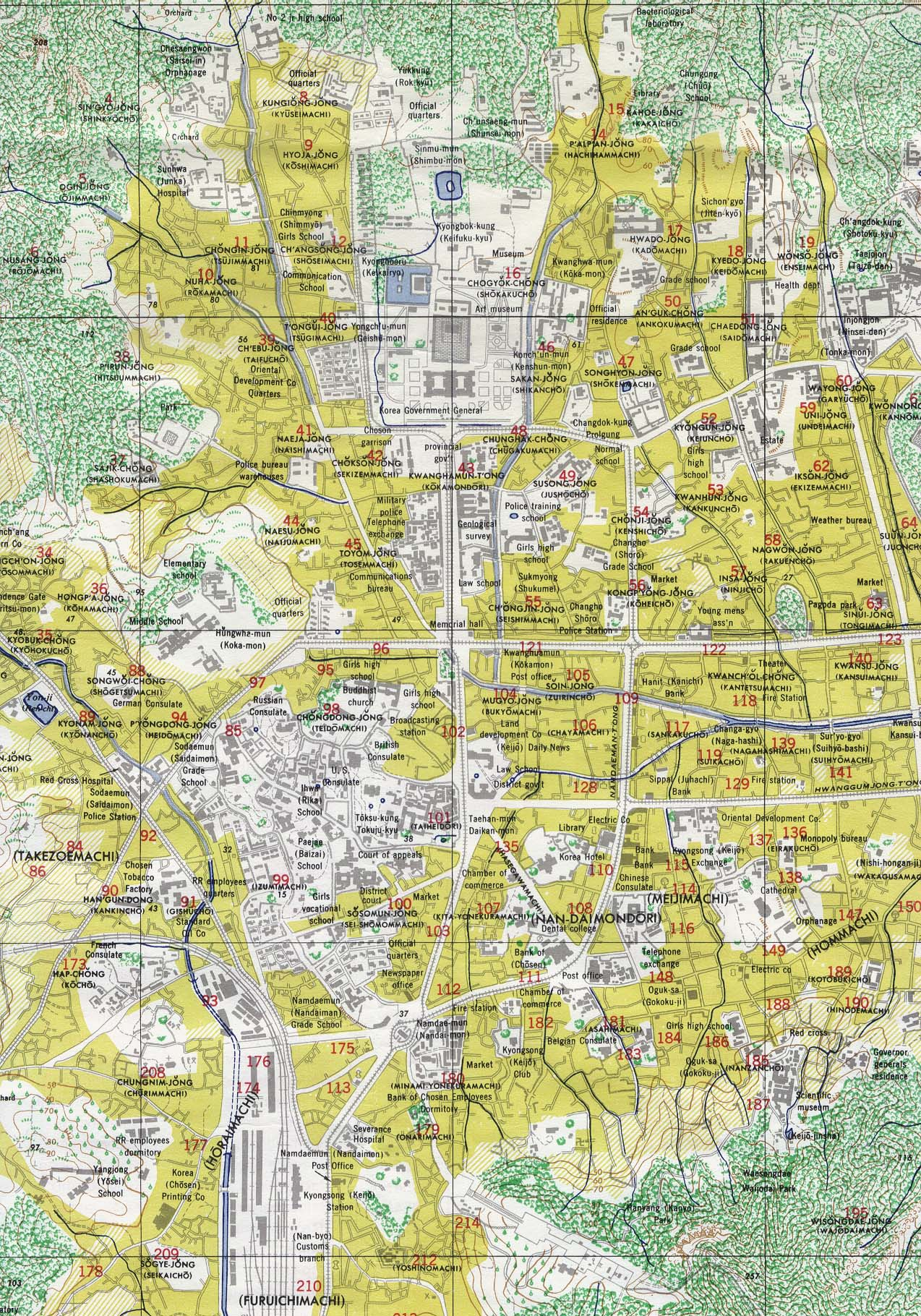 Korea Maps PerryCastañeda Map Collection UT Library Online - Us road map 1950