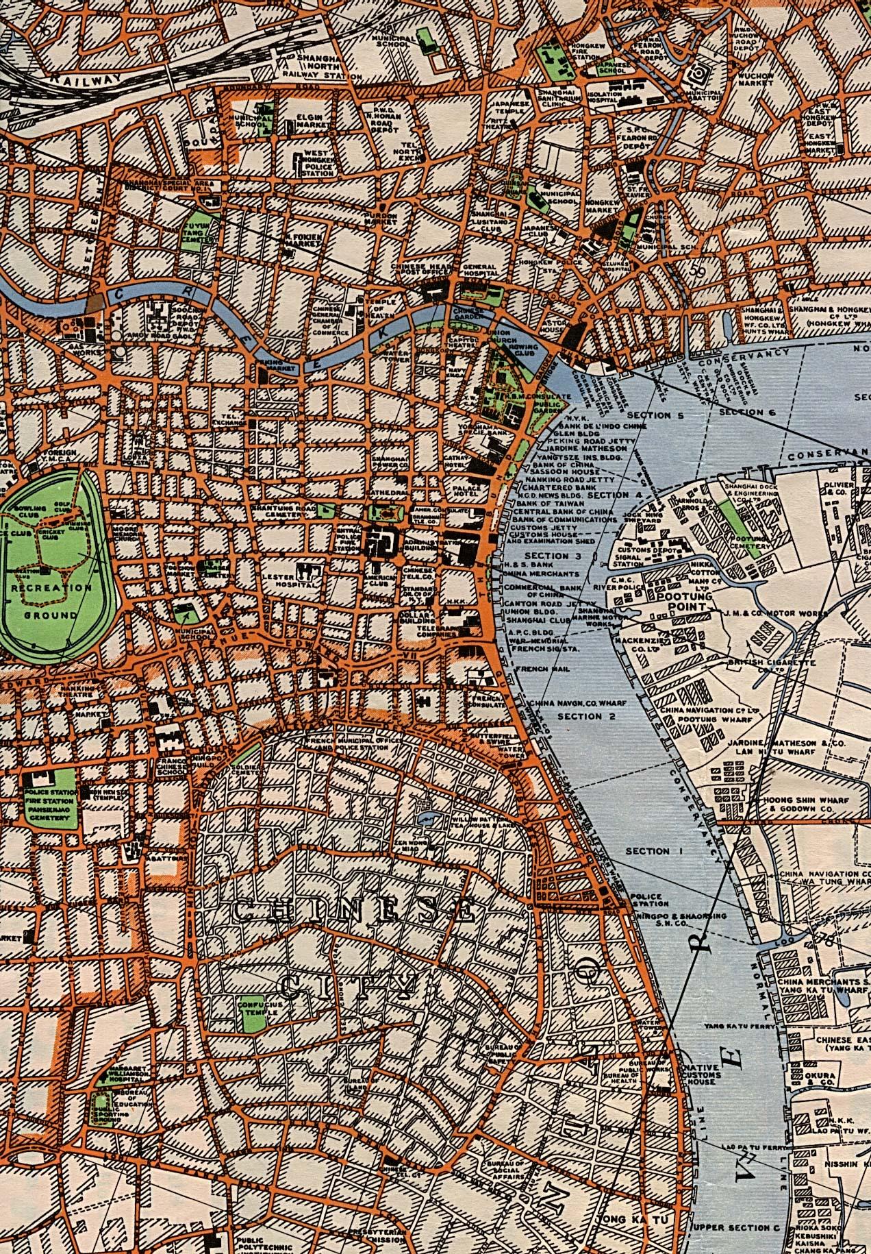 Up Travel Historical Maps Of ChinaShanghai KA - Us muni map