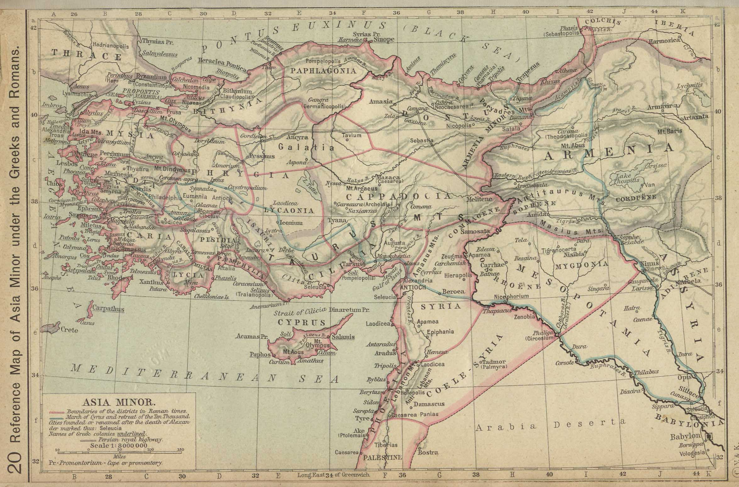 Middle East Historical Maps - Perry-Castañeda Map Collection