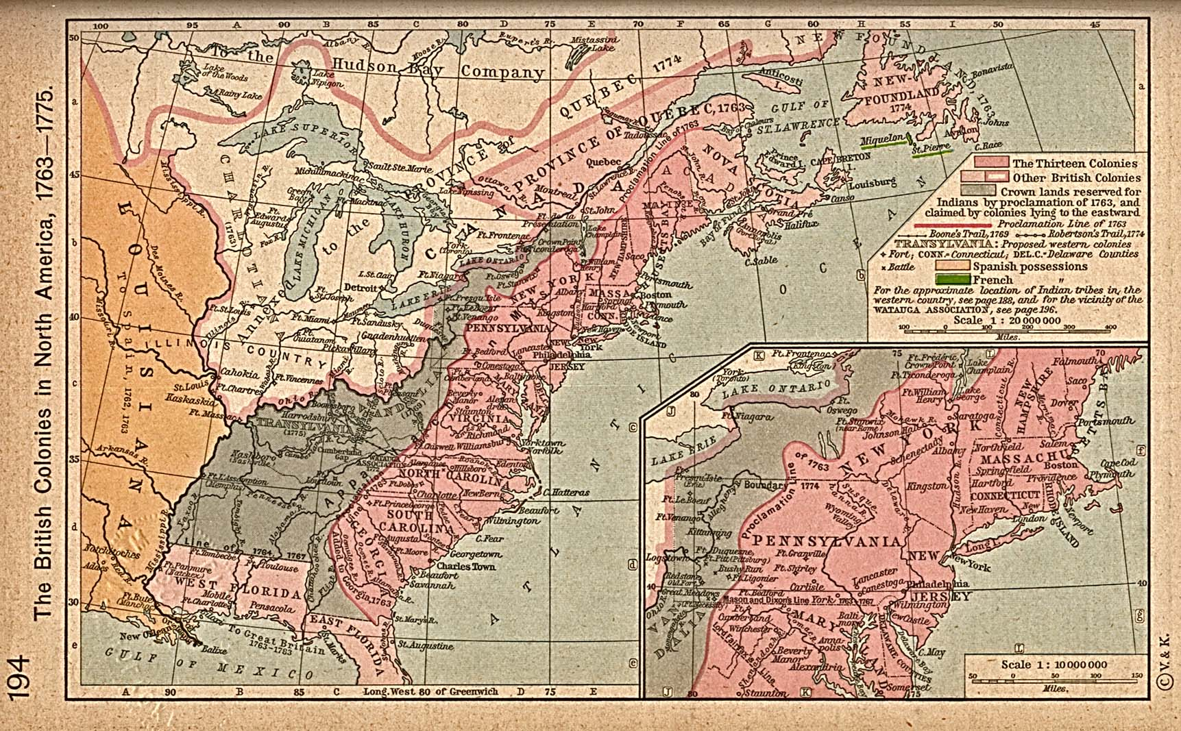 the british colonies in north america 1763 1775