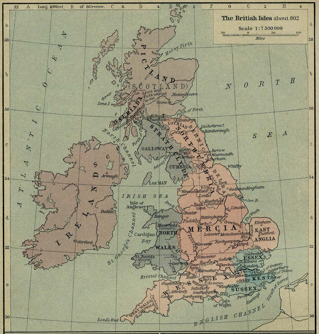 Map Of Ireland 900 Ad.Europe Historical Maps Perry Castaneda Map Collection Ut Library